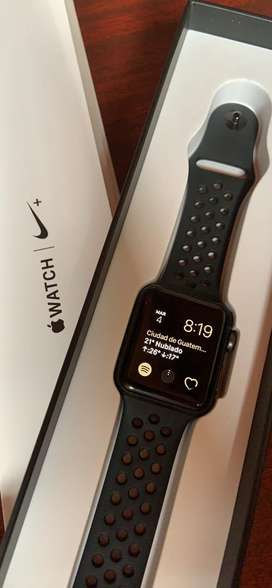 Apple Watch serie 3 edicion Nike
