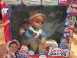 Muñeco cocolin doctor