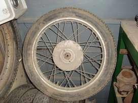 ruedas de moto antigua,