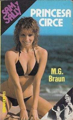 Libro: Princesa Circe, de M.G. Braun [novela de suspenso]