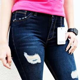 Jeans dama talla 8 10 y 12 últimos