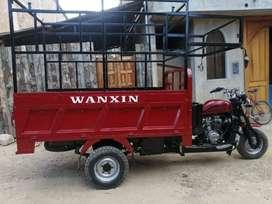 Venta de moto carguera WANXIN 300 AÑO 2015