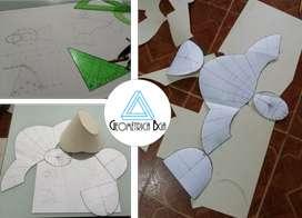 Clases y trabajos de geometria descriptiva!!