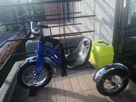 Triciclo retro scoop