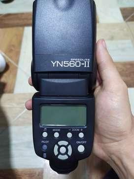 Flash Yongnuo Yn 560 Ii Digital Para Canon, Nikon