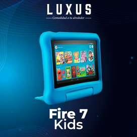 TABLET PARA NIÑOS  Fire 7 KIDS Display, 16 GB