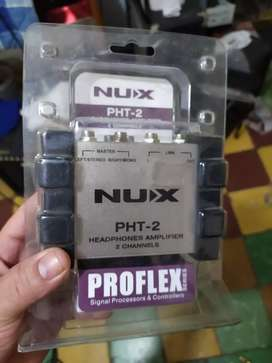 Nux pht 2 amplificador de audífonos
