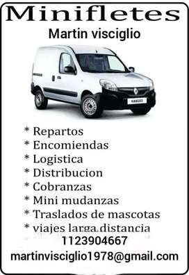 Minifletes y logística.