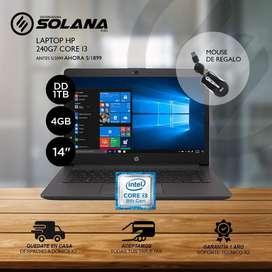 Laptop HP CI3 Selladas