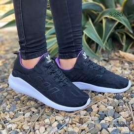 Zapato Tennis Deportivo Adidas Fly Ultraliviano Para Dama