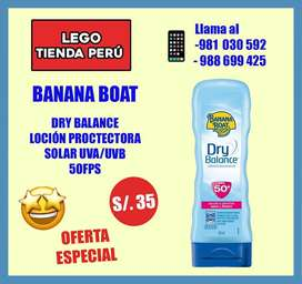 Banana boat protector de sol