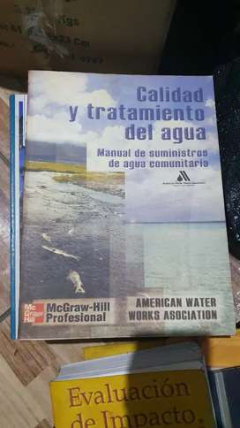Calidad y tratamiento del agua