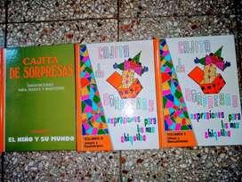 LIBROS  Cajita De Sorpresas VOLUMEN 2-3-4