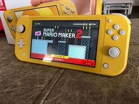 Nintendo Swtch Lite + Mario Maker 2