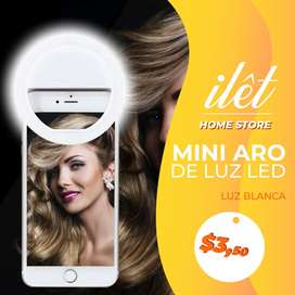 Mini Aro de luz para selfies