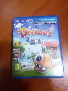 Little Deviants Ps Vita Idioma Español