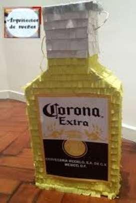 piñata cerveza corona