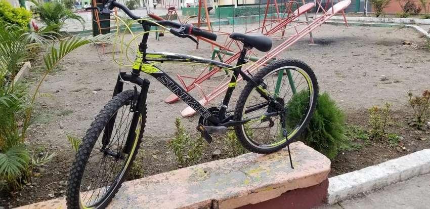 Bicicleta casi nueva aro 26 0
