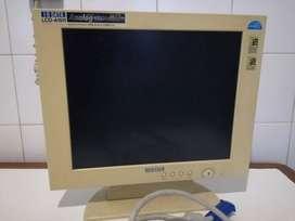 Monitor LCD para Pc funcionando de 16 pulgadas