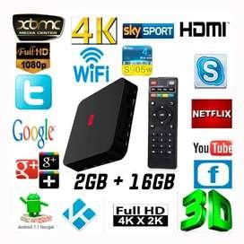 Android TV BOX 4k 2GB RAM 16GB SmartTV