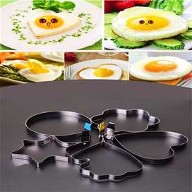 Molde de acero para huevo frito