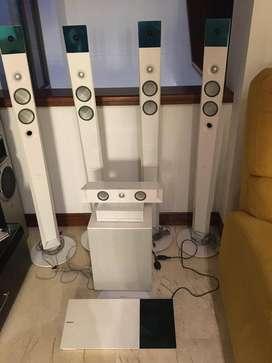 Equipo de sonido Sony Muteki completo.