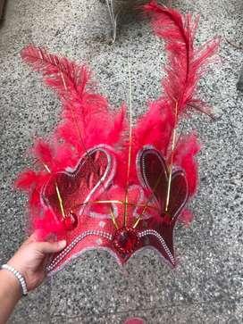 Antifaz carnaval carioca quincianiera o casamiento