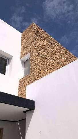 Revestimientos simil piedra de impresionantes texturas