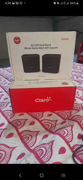 Repetidores WiFi ultra WiFi clar0