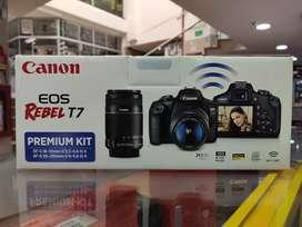Canon T7 con 18-55 y 55-250