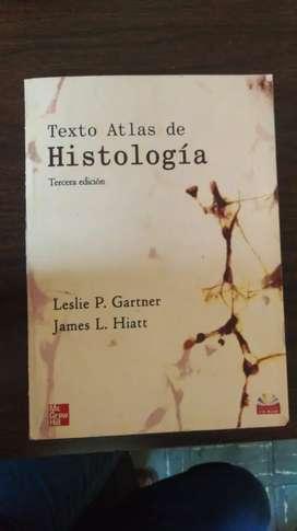 Libro atlas de histologia de Gartner tercera edición