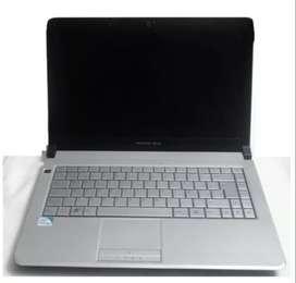 Notebook Positivo Bgh J-410 4gb Ram Procesador Intel Pentium