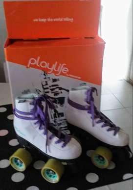 patines playlife talle 34 patín artístico