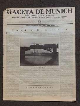 Revistas Semanal Gaceta de Munich 1923