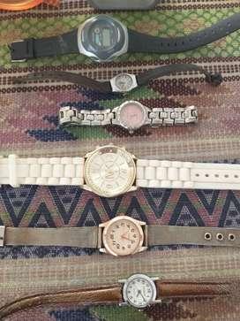 Once relojes para entendidos