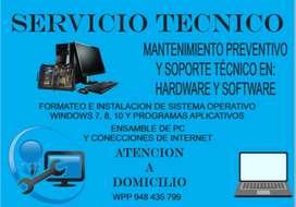 SERVICIO TÉCNICO DE COMPUTADORAS PAITA