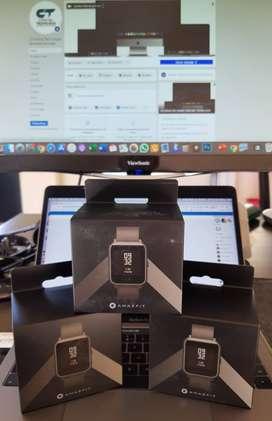 Smartwatch Xiaomi Amazfit Bip Black Onix Nuevo Caja Sellada STOCK!!!