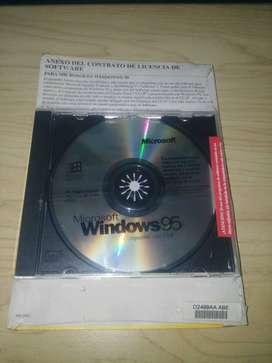 Sistema Operativo Windows 95 Nuevo Y Original.