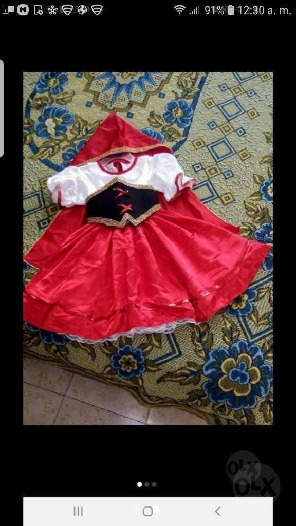 Se Vende Disfraz de Caperucita Roja Y Za 0