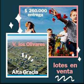 Lotes en venta Villa los olivares