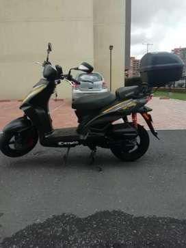 Vendo moto bien cuidada