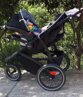 Coche graco y silla del carro bebé