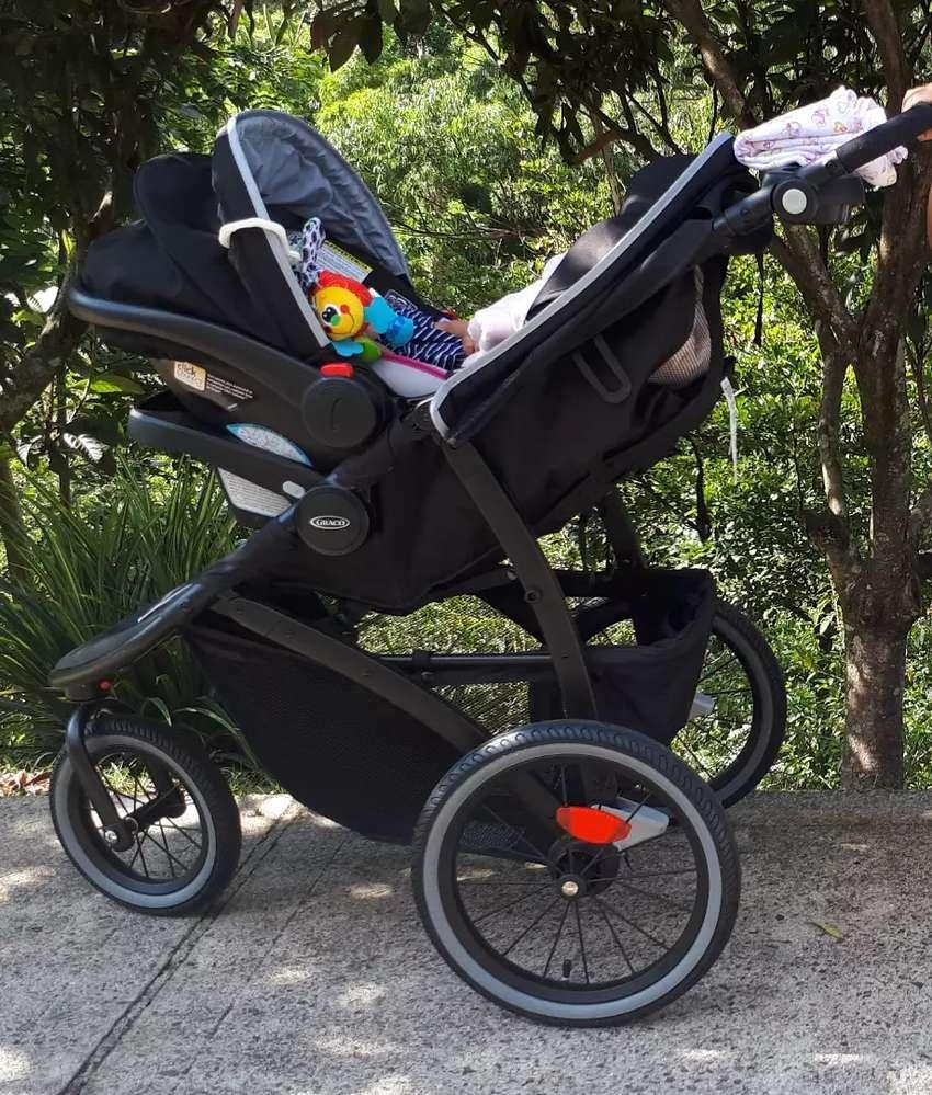 Coche graco y silla del carro bebé 0
