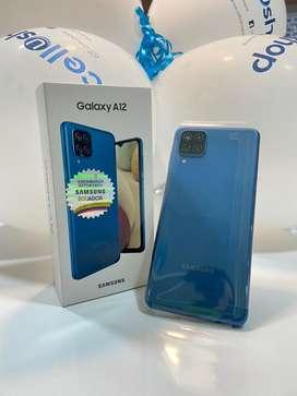 Samsung A12 de 64 GB color Azul
