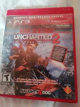 Vendo juego uncharted 2 ps3