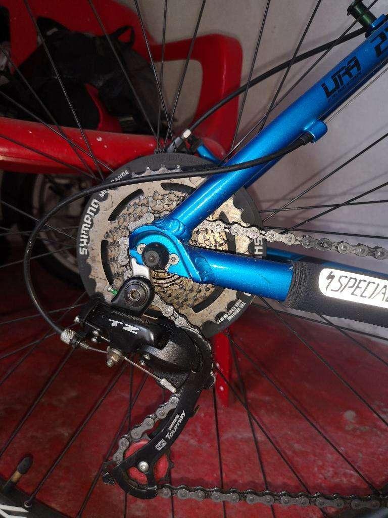 Bicicleta Gw marco en aluminio 0