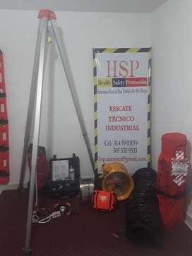 Kit de Rescate Bomberos Petzl Confinados