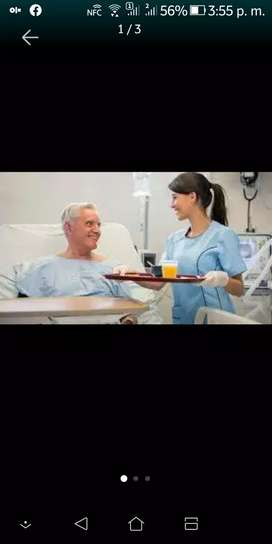 Busco trabajo de cuidadora de adulto mayor