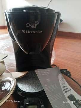 Cafetera electrolux nueva