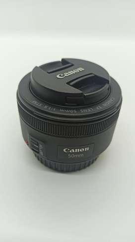 Lente Canon 50mm STM